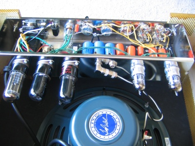 Circle Round the Sun - DIY Amps